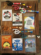 Disney Store Mickey And Minnie Mouse Tigger Donald Duck Ink And Paint Key Lot