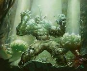 Echoing Courage Magic The Gathering Original Oil Painting By Greg Staples Mtg