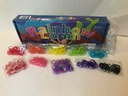 Rainbow Loom Kit With Bands, Tools And Instruction Manual