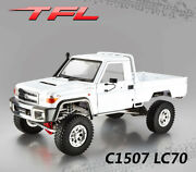 Tfl Crawler 4wd 1/10 Scale Kit C1507 Lc70 Rc Car Metal Chassis Toyota Shell