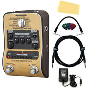 Zoom Ac-2 Acoustic Creator Pedal W/ Power Adapter