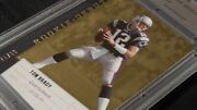 2006 Upper Deck 57 Tom Brady Rookie Debut Gold 71/99 Cgs 10 Rare Hard To Find
