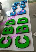 16in Channel Letter Cbd ,liquor Store Sign , Customs Size And Color Accept