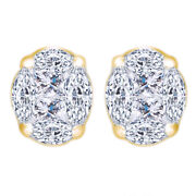 1/2 Cttw Diamond Stud Earrings In 14k Yellow Gold Christmas Special