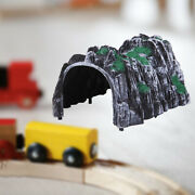 1pc Model Train 187 Scenery Tunnel Track Garden Sand Table Toy For Boys