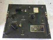 Vintage Signal Corps Transmitter Tuning Unit Tu-18-a