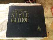 1941 Sherwin Williams Paint And Style Guide Book. Vintage Home Design. Mint.