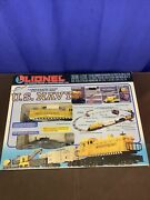 Lionel O27 Us Navy Train Set 6-11745 Complete In Box
