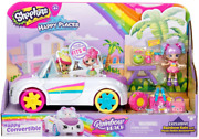 Shopkins Happy Places Rainbow Beach Convertible - Includes