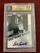 Bill Russell 2010 Upper Deck Ultimate Collection All-time Draft Auto 5/5 Bgs 9.5
