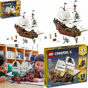 Lego Creator 3in1 Pirate Ship 31109 Building Playset For Kids Who Love...