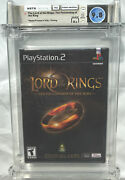 Wata 9.8 A+ Sealed Ps2 Lord Of The Rings Fellowship Of The Ring Playstation 2