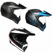 Agv Ax-9 Full Face Dual Sport Street Motorcycle Helmet - Pick Size And Color