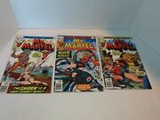 Comic Book Ms. Marvel 15 16 17 Lot Of 3 1977 Mystique See Photos