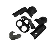 Instrument Housing Ignition Switch Panel Trim Fit For Harley Road Glide 15-21