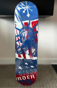 """Disorder Skateboard """"states"""" Usa Olympic Board 8.125 Sold Out"""