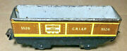 Marx Trains 552g Groceries And Sundries 6 Gonodola Car