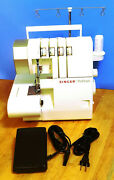 Singer 14cg754 Commerical Grade Profinish Serger Sewing Machine With Foot Pedal