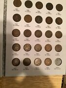 Complete Indian Head Penny Collection Less 1877 And 1909 S