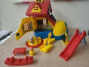 Matchbox Vintage Retro Big Yellow Boot School House With Accessories 1983