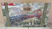 Lionel Thunder Freight Electric Train Set W/ Die Cast Metal Engine - Untested