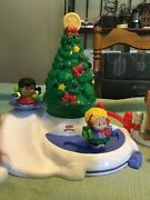 Fisher Price Little People Christmas Tree Lighting-musical Tree Free Shipping