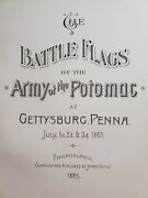 1885 Battle Flags Of The Army Of Potomac At Gettysburg One Of Only 125 Issued