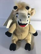 Bordens Vintage Elsie The Cow Advertising Dairy Plush Stuffed Doll About 7