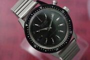 Seiko Vintage Chronograph Rare Manual Winding Mens Watch Authentic Working