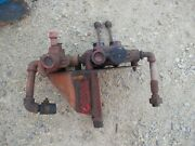 Farmhand Loader Hydraulic Control Valves + Mt Bracket And Levers Farmall Tractor