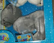 New Ganz Webkinz Charcoal Cat Tag Hm152 Plus 2 Outfits Swim Suit And Baggy Jeans