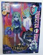 2012 Nib Monster High 13 Wishes Twyla Doll Daughter Of The Boogey Man