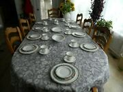 Royal Doulton Fine Bone China Orchard Hill Set For 10 W/4 Serving Pieces  16-3