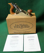 Nos New Old Stock Lie Nielsen No 1 Plane W/box And Instructions Invny17