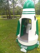 Coin Operated Kiddie Ride Big Rocket Ship