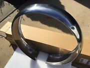 1930s 1940s Ford Chevy Stainless Spare Tire Cover Original Oem