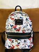 Disney 90th Anniversary Mickey Loungefly Backpack
