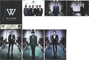 Winner Debut Album 2014 S/s Taiwan Cd And Photo Card And 6 Large Photo Cards New