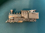Vintage Comoyand039s Of London Train Locomotive Table Table Lighter Stainless