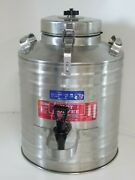 Cecilware 3 Gallon Insulated Stainless Steel Hot Coffee Carrier Beverage Urn