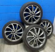 Oem Lincoln Mkz 2017-2020 Rims Aly10128 And Michelin Primacy Mxm4 Tires 245/40r19