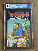 Bongo Comics Free-for-all Cgc 9.8 - 2010 - White Pages - Simpsons - Pristine