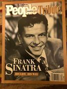 People Weekly May/june 1998 Tribute Frank Sinatra His Life/his Way Brand New