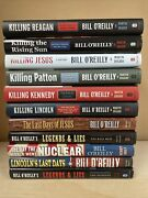 Lot Of 11 Bill O'reilly Killing Hcs Books Patton/kennedy/lincoln/jesus And More