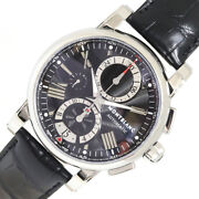 Menand039s Star 4810 102377 Black Dial From Japan N0817