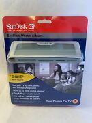 Sandisk Shoot And Store Digital Photo Album/card Reader Sdv2-a View Photos On Tv