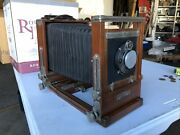 Korona View Compur Wooden Large Format Camera - Vintage Photography