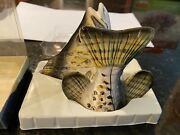 Bass Fish Salt And Pepper Shakers Ceramic Fish Shakers Ross Art Outdoor Collect
