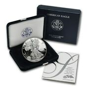 2007 W Silver American Eagle One Ounce Proof Coin With Box And Coa