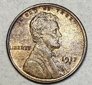 1917-d Lincoln Cent 1c Penny